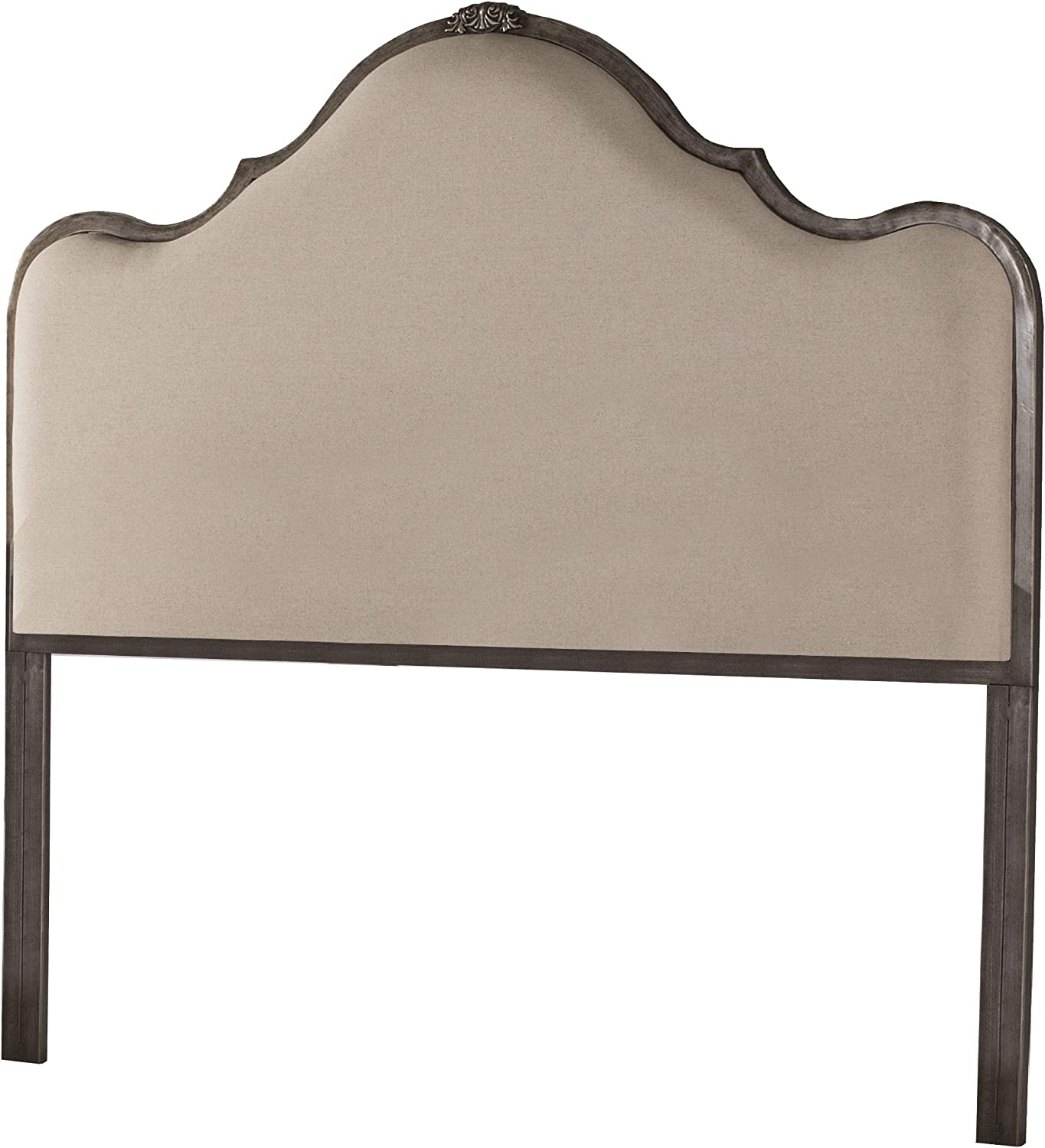 Hillsdale Furniture Hillsdale Delray, King, Frame Not Included, Linen Stone Headboard,