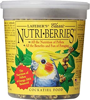 product image for Lafeber'S Classic Nutri-Berries Cockatiel Food 12.5Oz