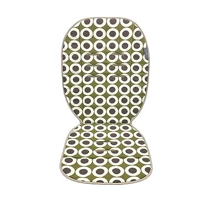 Poplico - Colchonetas Reversibles para sillas de paseo (Chocolate/Brown)