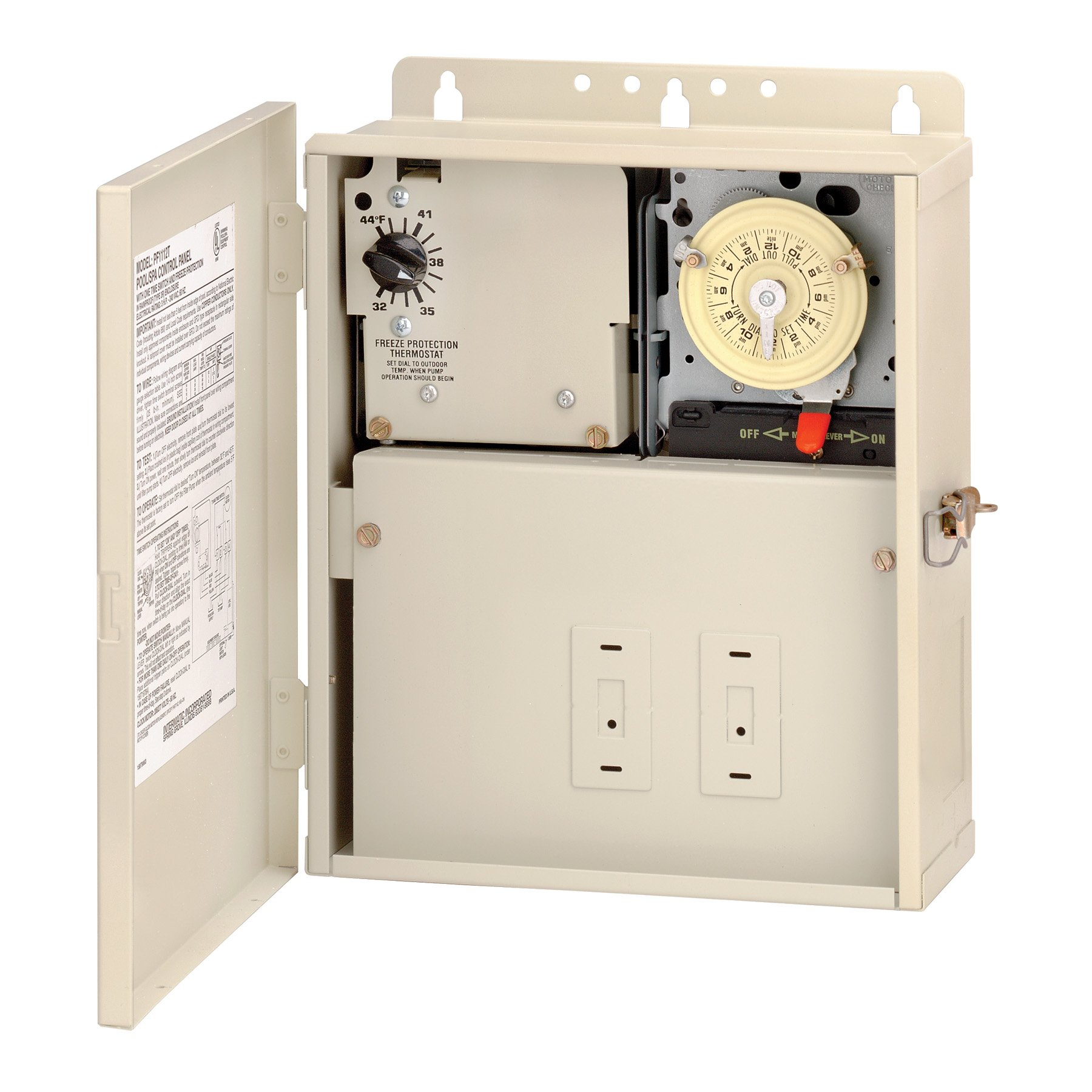 Intermatic PF1112T Multi Circuit Freeze Protection 1 Time Switch