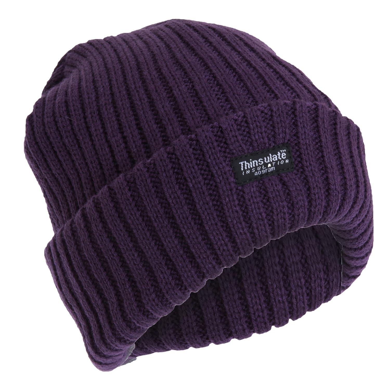 Floso Ladies/Womens Chunky Knit Thermal Thinsulate Winter/Ski Hat (3M 40g) Universal Textiles UTHA138_1