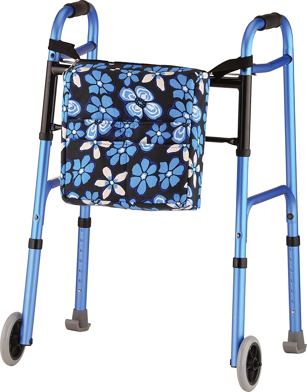NOVA Walker Bag, Large Carry Bag with 3 Front Pockets for All Walkers