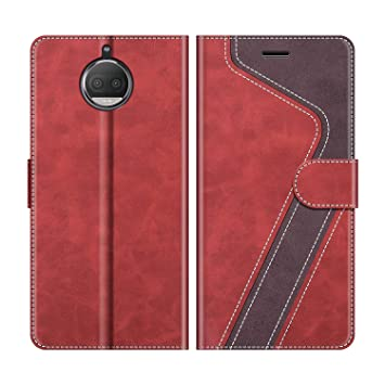 MOBESV Funda para Motorola Moto G5S Plus, Funda Libro Motorola ...