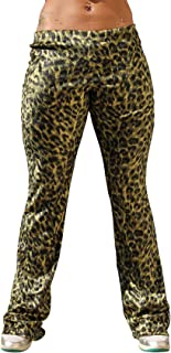 product image for Physique Bodyware Womens Animal Print Yoga Pants. Made in America