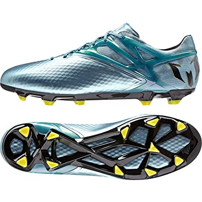 separation shoes 1b865 5f121 adidas Messi 10.1 FG AG, Men s Football Boots, Azul   Amarillo   Negro. Roll  over image to zoom in