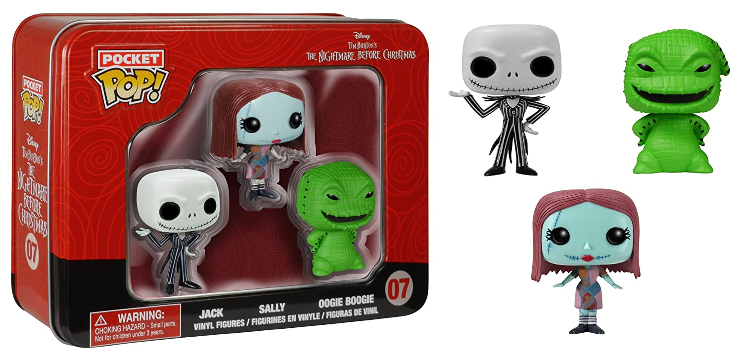 Disney Nightmare Before Christmas Pocket Pop Figures in a Tin ...