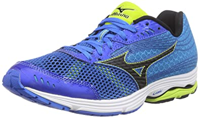 1bf74ce0070b Mizuno Wave Sayonara 3, Men's Running, Blue (BlueLemonade/Lime/Danube 40