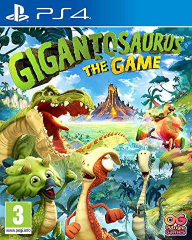 Gigantosaurus The Game - PlayStation 4 [Importación inglesa ...