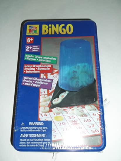 BINGO Game by Pavilion (ages 6 on up)