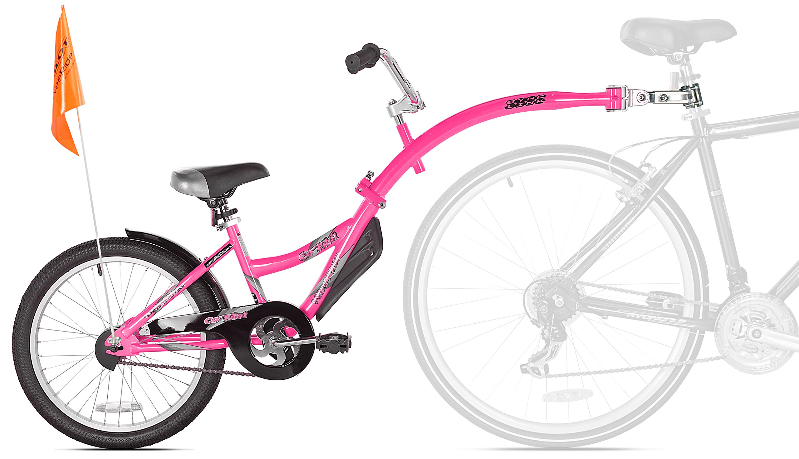 WeeRide Co-Pilot Bike Trailer, Pink by WeeRide