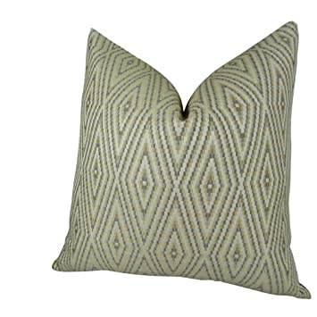 Amazon.com: Gray geométrica almohada, Bronceado Crema Gray ...