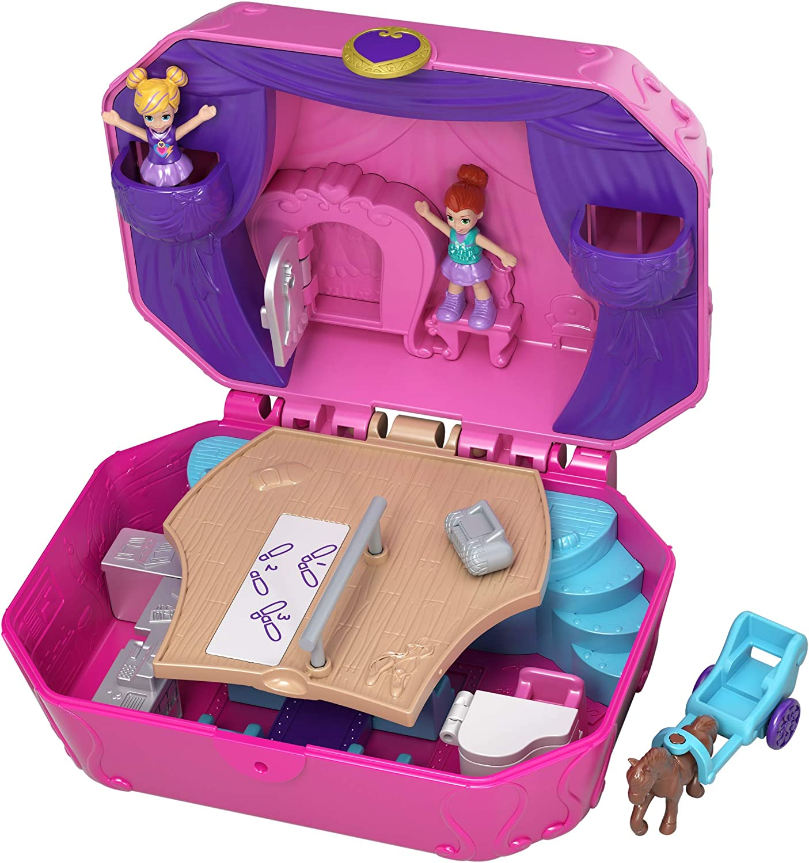Polly Pocket Tiny Twirlin' Music Box