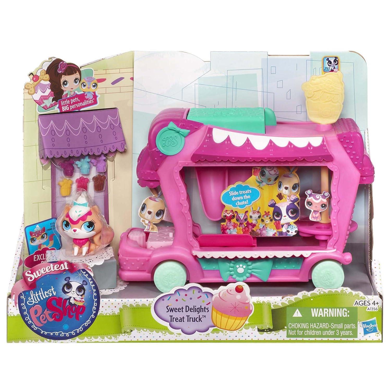 Littlest Pet Shop Sweet Delights Treat Truck Set Hasbro A1356
