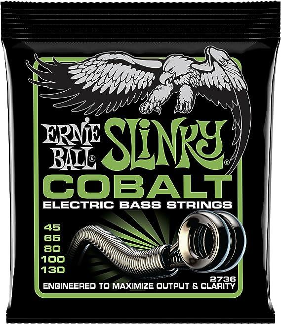 Ernie Ball Cobalt 5-String Regular Slinky Bass Strings