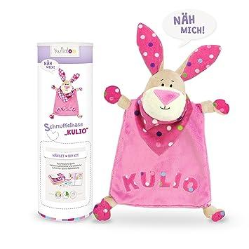 kullaloo - Material-Set / Stoffpaket zum Selber nähen: Schnuffeltuch ...