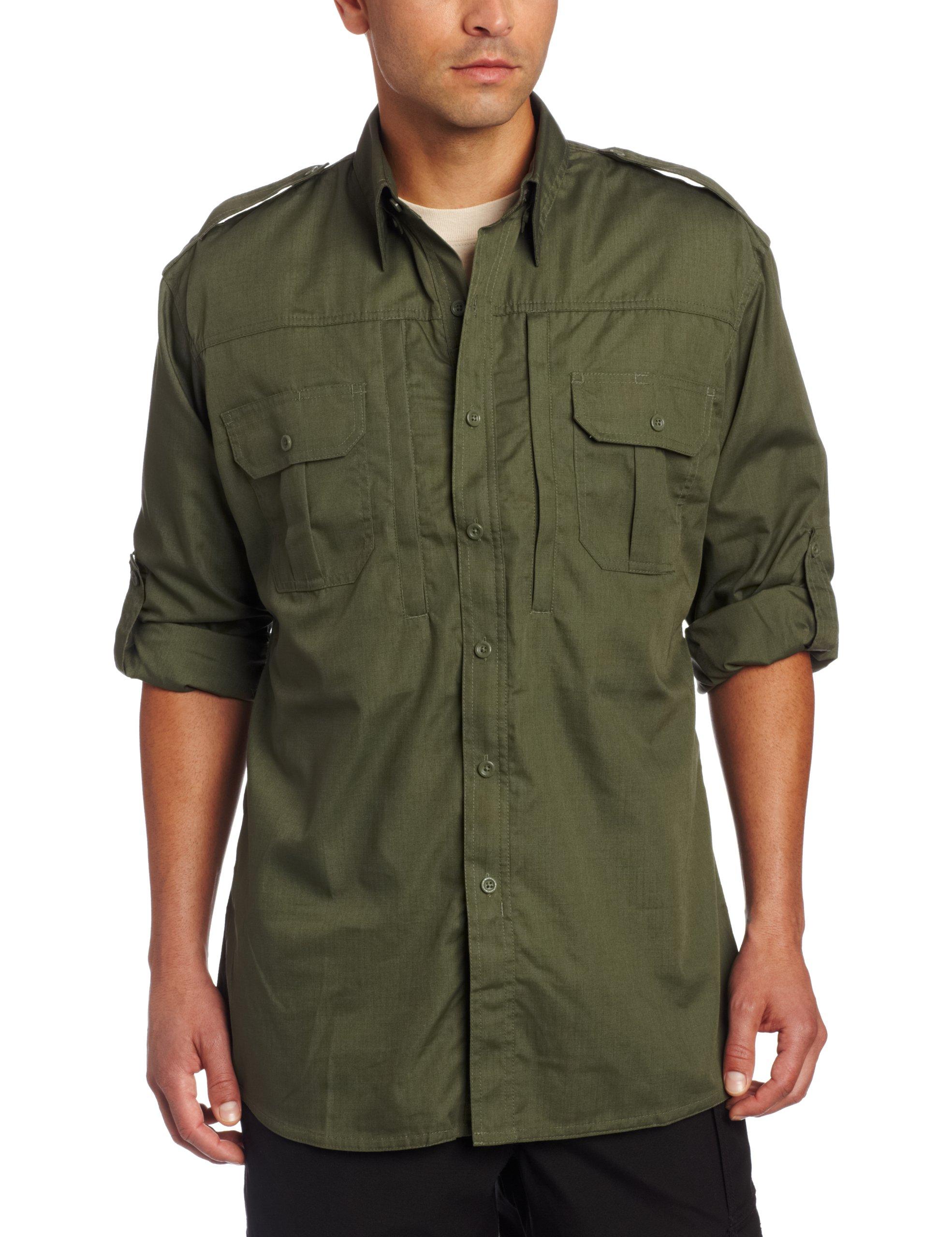 Propper Men's Long Sleeve Tactical Shirt - Large - Olive by Propper