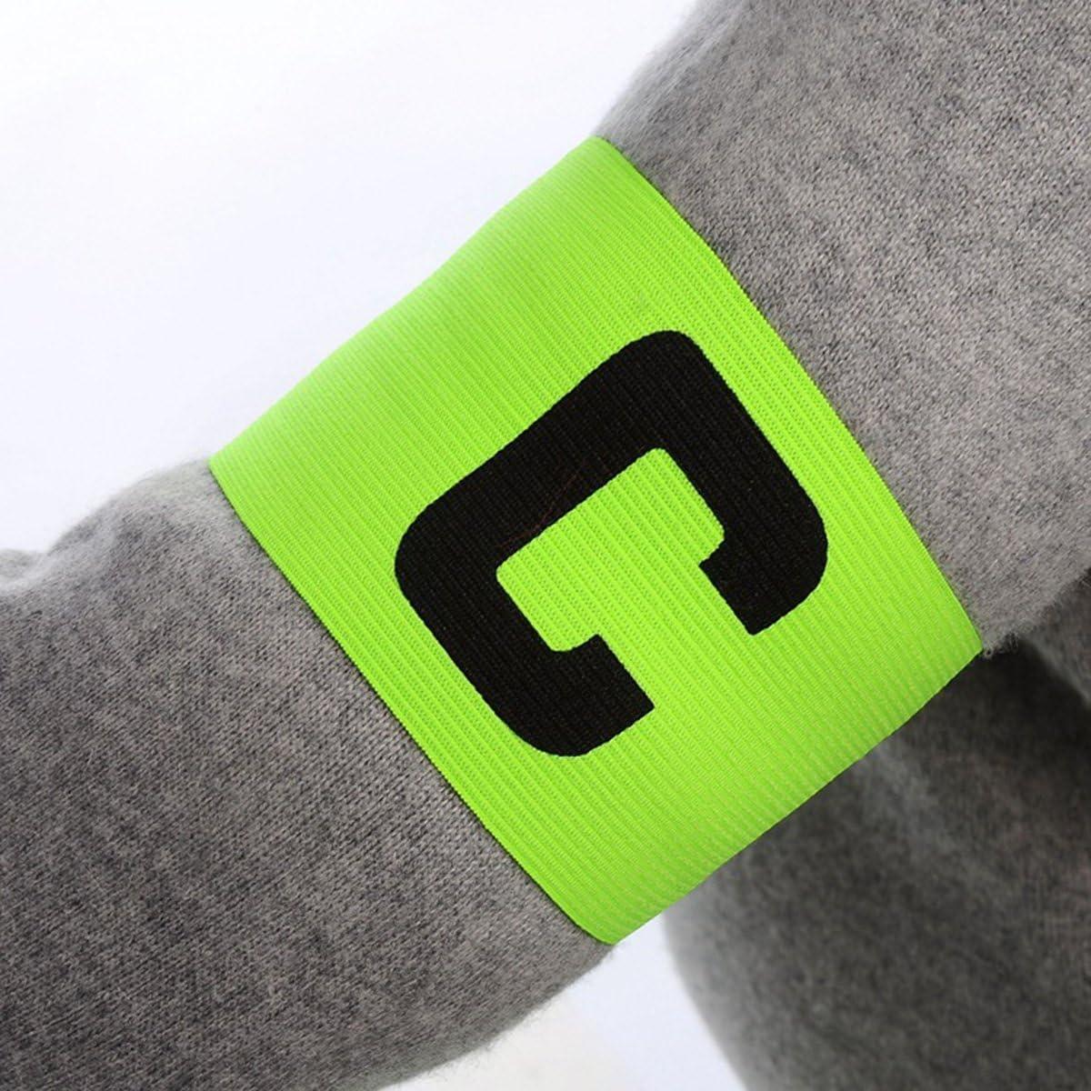 Fascia da calcio per capitano regolabile 4 pezzi WINOMO fascia elastica per pallacanestro