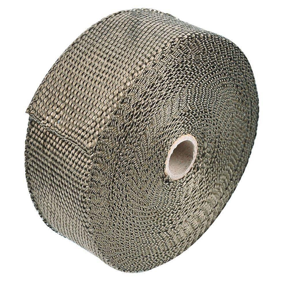 collettore termico protezione termica fascette metalliche Bermud 5/m nastro di protezione contro il calore in fibra di basalto con fascette di acciaio inossidabile collettore di scarico fino a 1000/° C