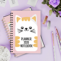 PLANNER 2020 NOTEBOOK: is a premium Notebook, specially designed for one-year planning, which is a powerful support tool for your work and life. cover: a funny cat. size:6*9 (inch), 200 pages