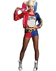 Rubie's - Costume da donna da Harley Quinn, M (10-14)