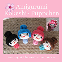 Amigurumi Kokeshi- Püppchen (German Edition)