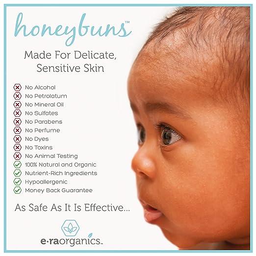 Crema Sanadora Natural para Bebés Cer:ficada por USDA para Eczema de Bebés, Costra Láctea, Nariz Agrietada, Sarpullidos, y Más.: Amazon.es: Bebé