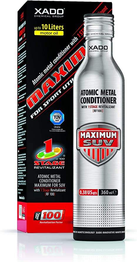 Xado 1 Stage Maximum For Suv Atomic Metal Conditioner Bottle 360 Ml By Xado Chemical Group Auto