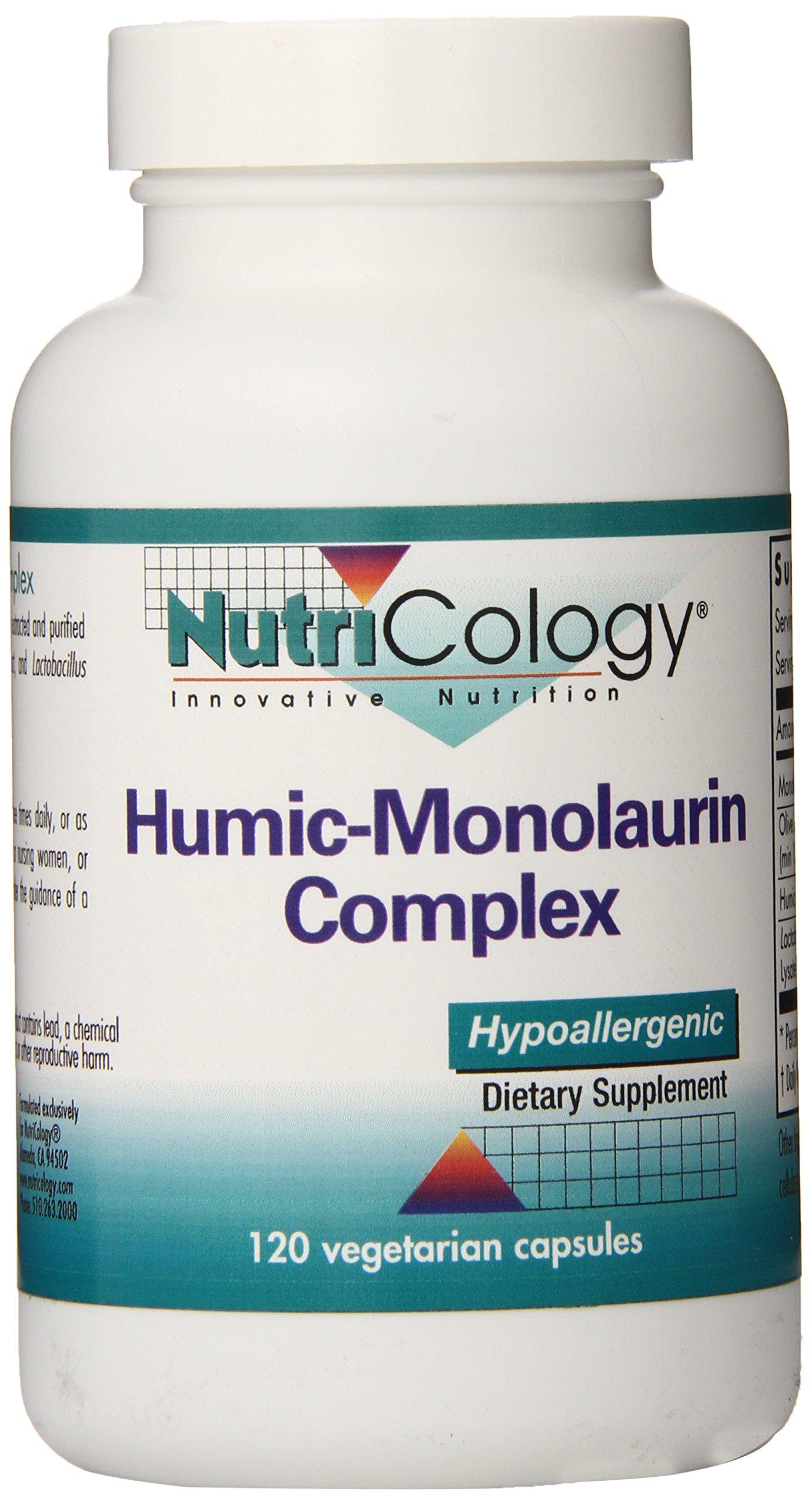 Nutrioclogy Humic-Monolaurin Complex Vegi Capsules, 120 Count
