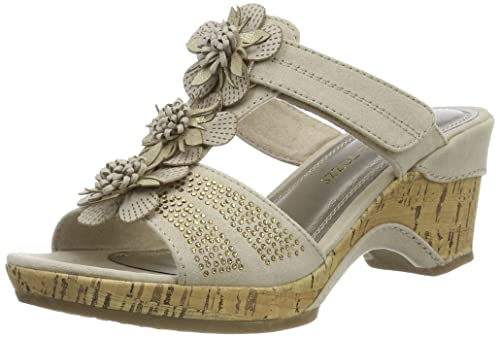 Toma De Disfrutar Marco Tozzi 27213 amazon-shoes beige Pagar Con Visa En Línea Barata Profesional De Salida 21bSwn4