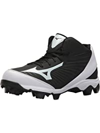 Mizuno (MIZD9) Mens 9-Spike Advanced Franchise 9 Molded Baseball Cleat-Mid