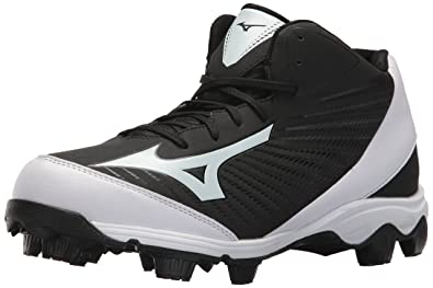 quite nice 62fdb 3cef6 Mizuno Men s 9-Spike Advanced Franchise 9 Molded Cleat-Mid Baseball Shoe,  Black