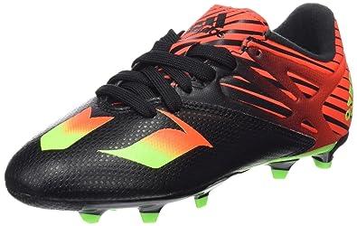size 40 fe153 14d2b adidas Messi 15.3 J - Botas para niño  Amazon.es  Zapatos y complementos