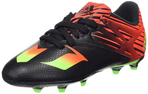 cheap for discount 44fe3 8fb34 adidas Messi 15.3 FgAG - Scarpe da Calcio Bambino, Multicolore (Core Black