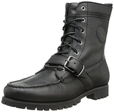 2f134af252 Amazon.com | Polo Ralph Lauren Men's Ranger Lace-up Hiker Boot ...