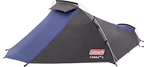 2019 Model Compact /& Lightweight Camping Hiking Coleman Cobra 2 Person Tent