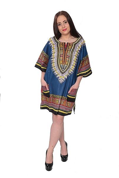 e2c56dec1 ABC Dashiki-Style Unisex Tunic One Size Fits Most at Amazon Women s ...
