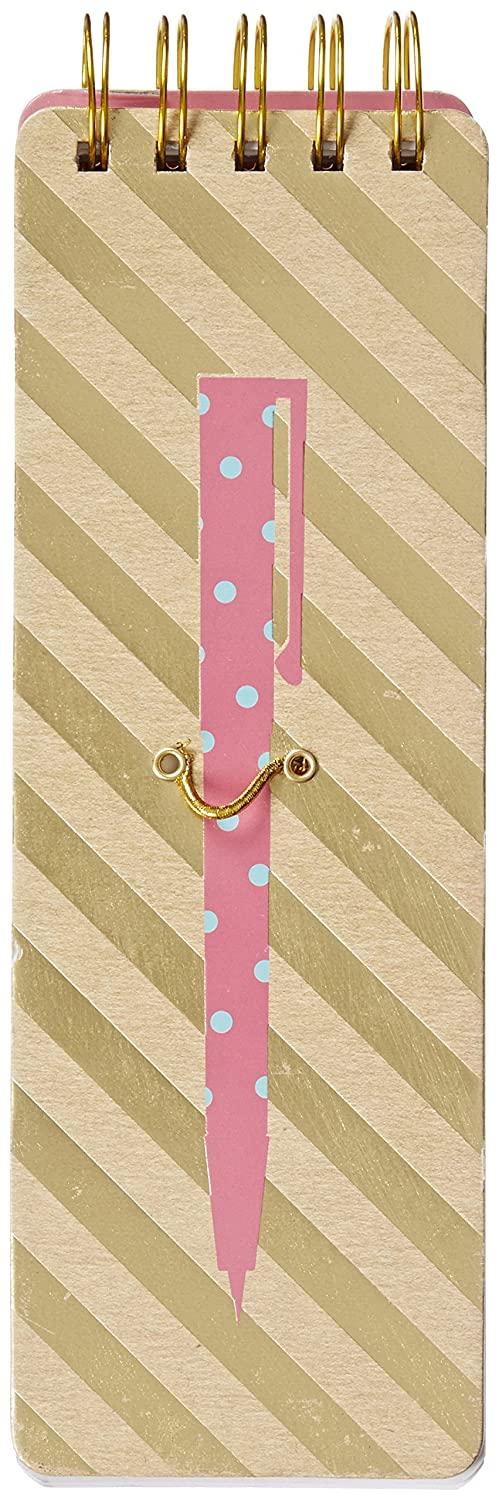 Eccolo Spiral Kraft Memo List Pad, No. 2 Pencil (T603E)