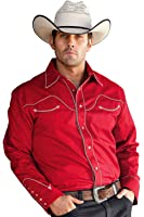 Westernhemd & stars stripes pour homme jACK «rouge»