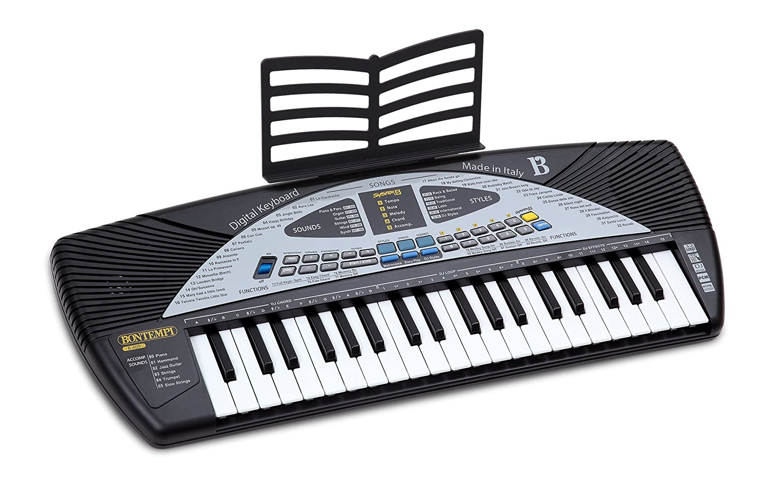 Bontempi - Teclado Digital 40 Teclas Midi (Spanish Business Option Tradding B 409.2)