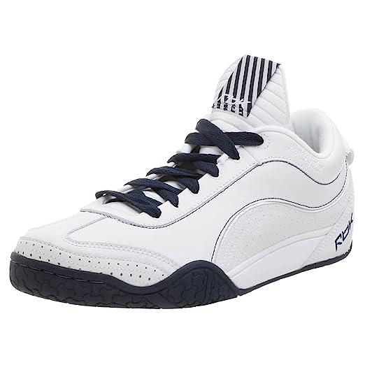 Reebok Mens Daddy Yankee Sneaker,White/Nvy,6.5 M