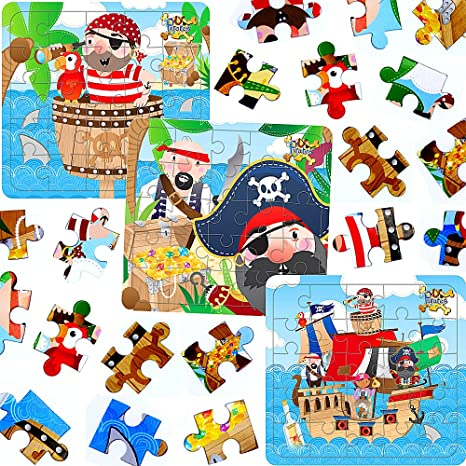 Nathan Puzzle-30P Les Petits Pirates 86349