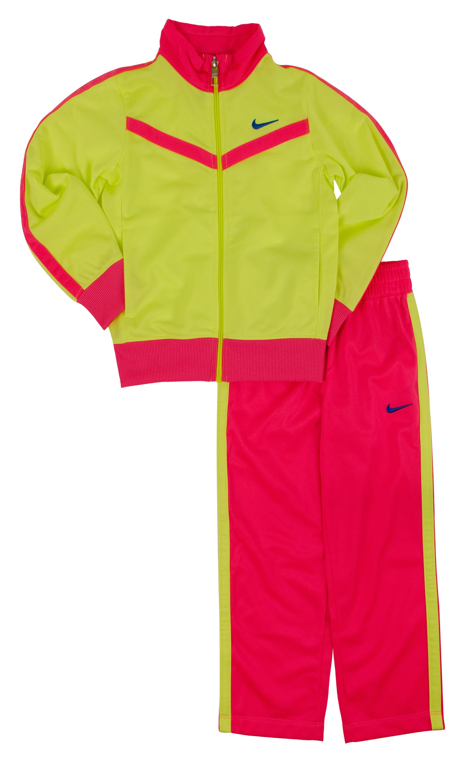 Nike Little Girls' Colorblocked Jacket & Pants Set-HP-4