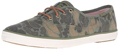 Keds Women's Champion Camo Ripstop Fashion Sneaker, Olive, ...