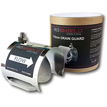 Roshield Rat Drain Guard - Drainage & Property Rodent Proofing (Stainless  Steel 4