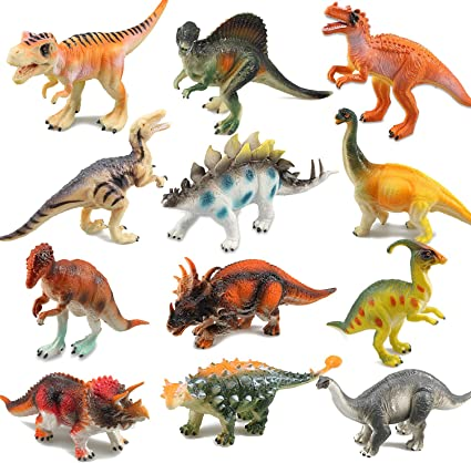 Amazon Com Ricov Dinosaur Toys Toy Dinosaurs Kids Dinosaur Toys For Girls Boys 12pack Toys Games Buy products such as schleich dinosaur, tyrannosaurus rex toy figure at walmart and save. ricov dinosaur toys toy dinosaurs kids dinosaur toys for girls boys 12pack