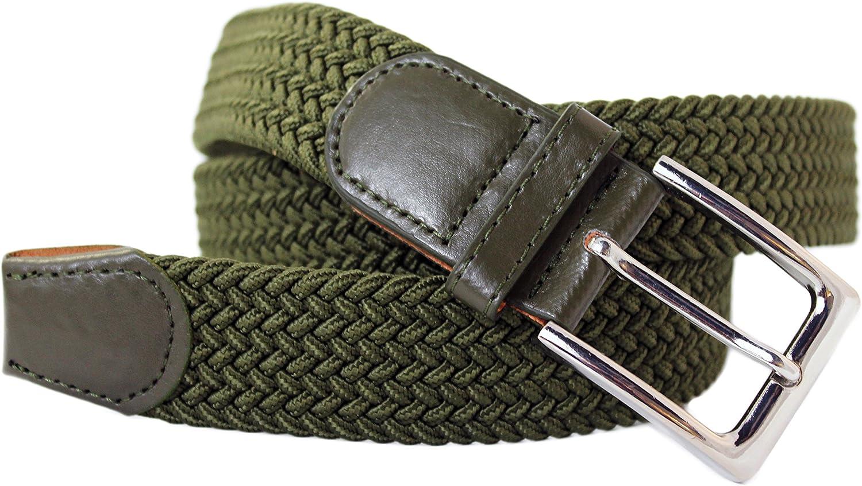 Fibbia Senza Nickel. Confortevole Cintura in tessuto Elastico Stretch