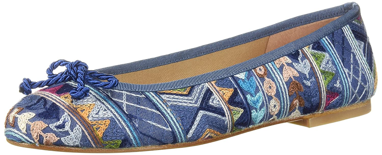 French Sole FS/NY Women's Bluebell Ballet Flat B0765HMHCP 7.5 B(M) US|Jeans