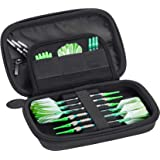 Casemaster Sentinel EVA Foam Shell Dart Case, Holds 6 Darts and Extra Accessories, Tips, Shafts and Flights, Compatible with