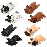 Plum Hill French Bulldog Magnets | Funny Animal Refrigerator Magnets, Perfect Animal Lover Gifts