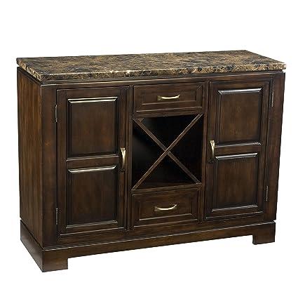 amazon com furnituremaxx ella faux marble top server buffets rh amazon com